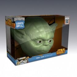 3D Star Wars Yoda Wandleuchte