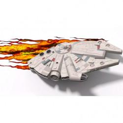 3D Star Wars Millenium Falcon Wandleuchte