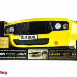 3DLightFX Muscle Car Wandleuchte