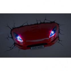 3DLightFX Sport Car Wandleuchte