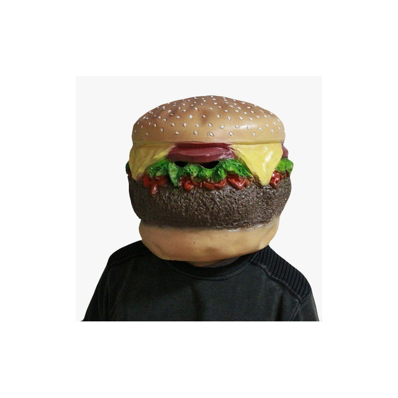 Faschingsmaske Hamburger