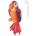 Aufblasbare Papagei