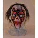 Totenkopf Maske mit haaren
