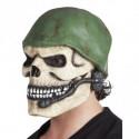 Maske Soldaten-schädel