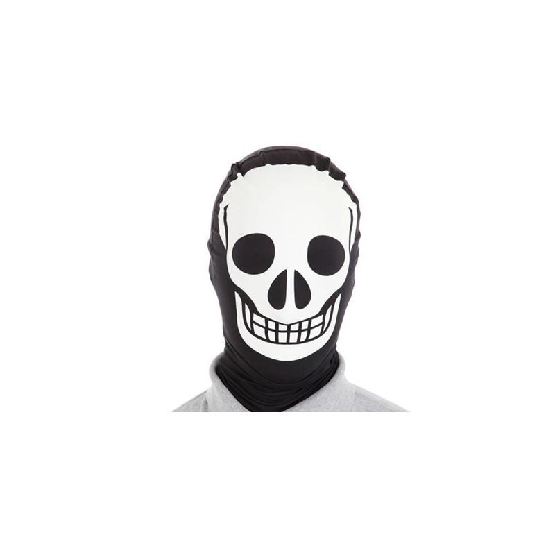 Morph Maske Skelett Totenkopf Morphsuit Maske Schweiz