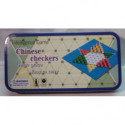 Mini HalmaSpiel in einer Metalldosen Sternhalma Chinese Checkers