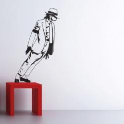 Wandsticker Michael Jackson Wandaufkleber