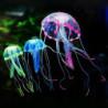Fluoreszierende Plastik Quallen Aquarium Deko