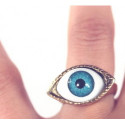 Metall Augenring Gothic