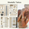 Gold und Silber Tattoos - Flash Tattoo