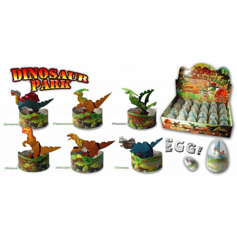 Wachsende Magische Dinosaurier im Ei