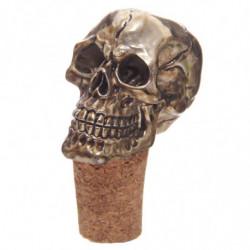 Flaschenkorken mit Totenkopf