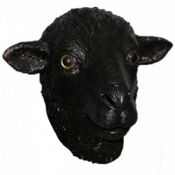 Maske Schwarzes Schaf