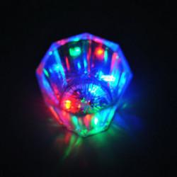 Schnapsglas mit LED-Beleuchtung
