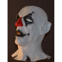 Böser Clown Maske Pierrot