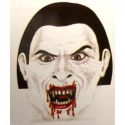 Horror Morph Maske - Morphsuit Maske Graf Dracula