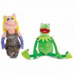 Muppetshow Kermit und Miss Piggy Plüschfiguren XXL