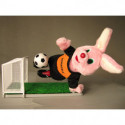Original Duracell Fussball Hase mit Tor