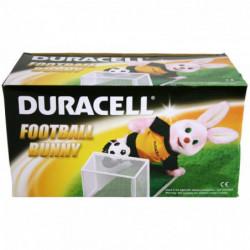 Original Duracell Fussball Hase mit Tor