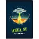 Area 51 Reisepass Notizbuch Reiseführer