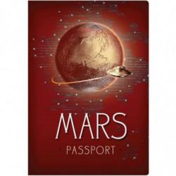 Mars Reisepass Passport Notizbuch Reiseführer