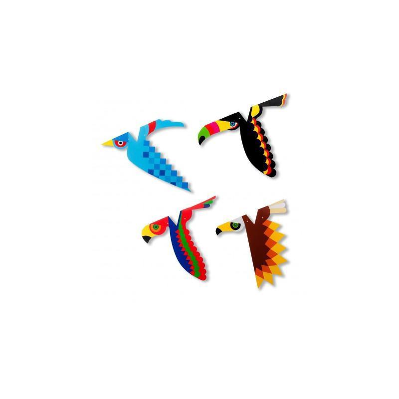 Vögel Fingerpuppen Schweiz