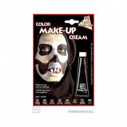 Schwarzer Make-up Faschingsschminke
