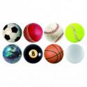 24 Untersetzer mit Sport Motiven Schweiz