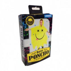 Rave Smiley Poncho Regen Cape Schweiz