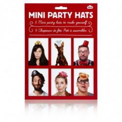 Mini Party Hüte zum Selber basteln