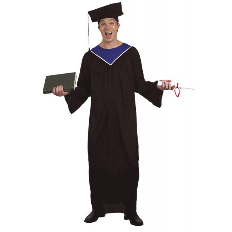 Doktor Hut Diplom Hut in schwarz