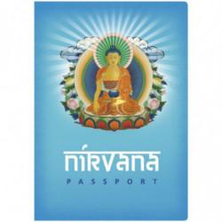 Nirvana Reisepass Notizbuch Reiseführer