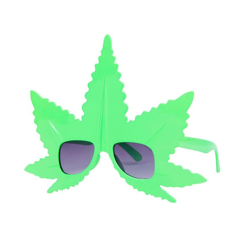 Hanfblatt Marihuana Brille Schweiz