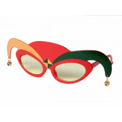 Joker Clown Harlekin Brille