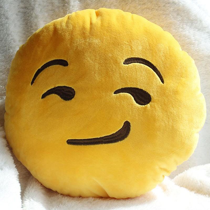 Emoji Emoticon Kissen Schweiz Plüsch Smiley Kissen Nur 9