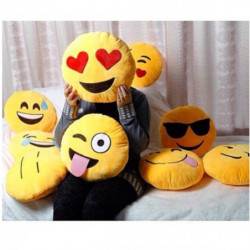 Emoji Emoticon Kissen