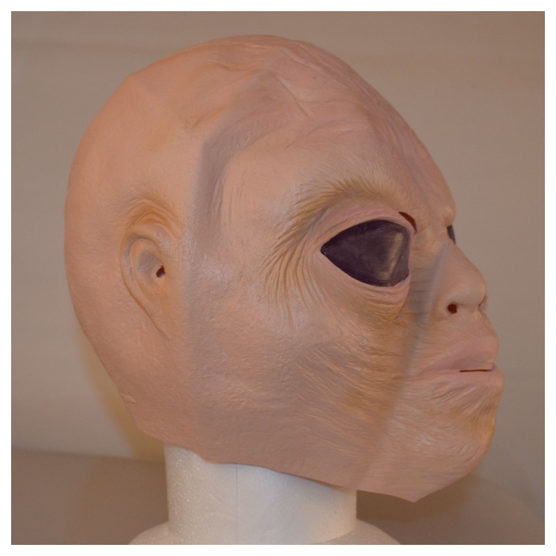 Alien Maske aus Latex