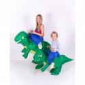 Aufblasbares Kinder Kostüm Dino Reiter
