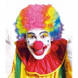 Clown Perücke mit Locken