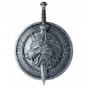 Game of Thrones Schwert und Schild aus Kunststoff