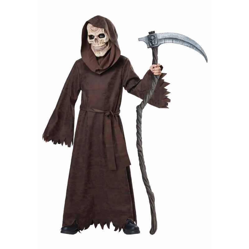 Halloween Kinder Kostüm Der Tod Sensenmann-Kostüm