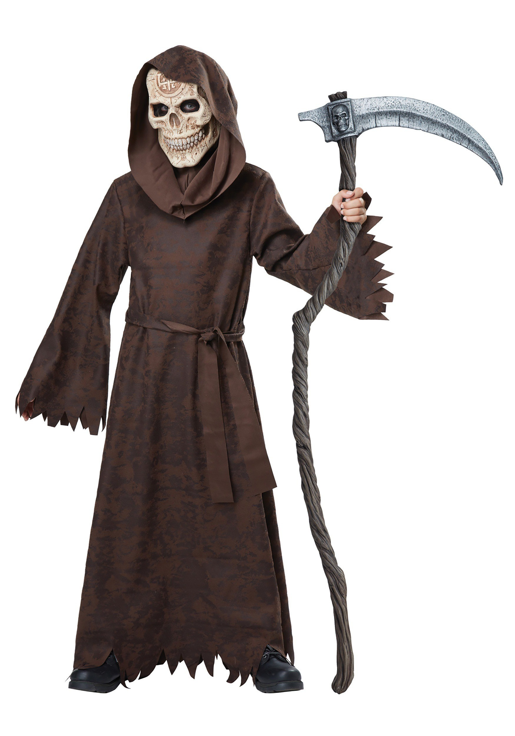 halloween kinder kostüm der tod sensenmann kinderkostüm