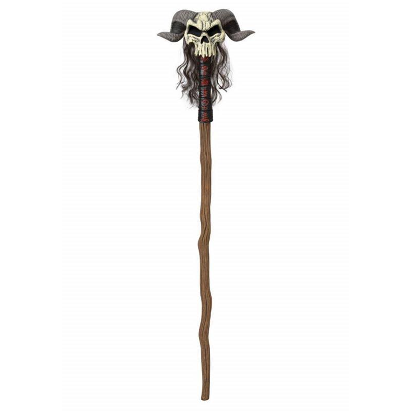 Warlock Schamane Totenkopf Stab