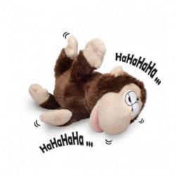Rollender lachender Affe