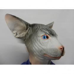 siam Katzen Maske aus Latex