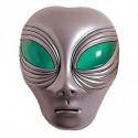 Alien Maske aus Kunststoff
