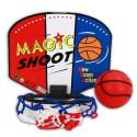 Basketball-Korb mit Wandhalterung und Softball