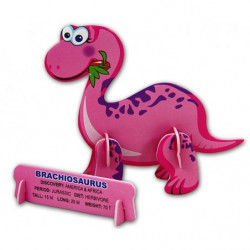 3d Dinosaurier mini Bausatz Set