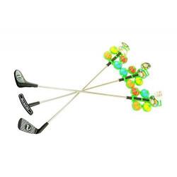 Mini Golf Golfset 1 Schläger mit 4 Bälle