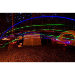 Frisbee Wurfscheibe mit Licht